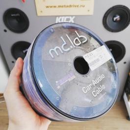 Акустический кабель MD.Lab MDC-SP16 2*1,5 кв.мм синий/прозрачный