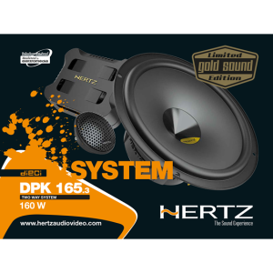Hertz DPK 165.3 GOLD SOUND – LIMITED EDITION