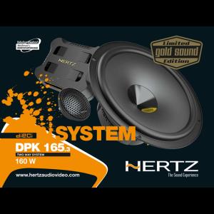 Hertz DPK 165.3 GOLD SOUND – LIMITED EDITION